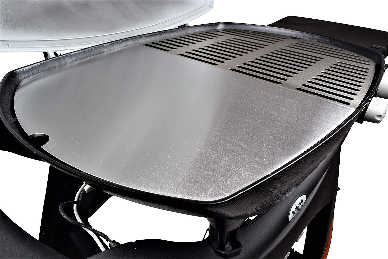 q3100 q3000 q320 Acier Inoxydable Grille Gril plaque s/'adapte pour Weber q300 q3200