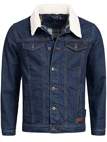d3be6fb34 Indicode Homme Veste en Denim Jeans Blouson Jean: Amazon.fr ...