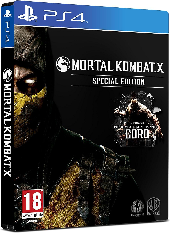 Mortal Kombat X (Spec.Edt.): Amazon.es: Videojuegos