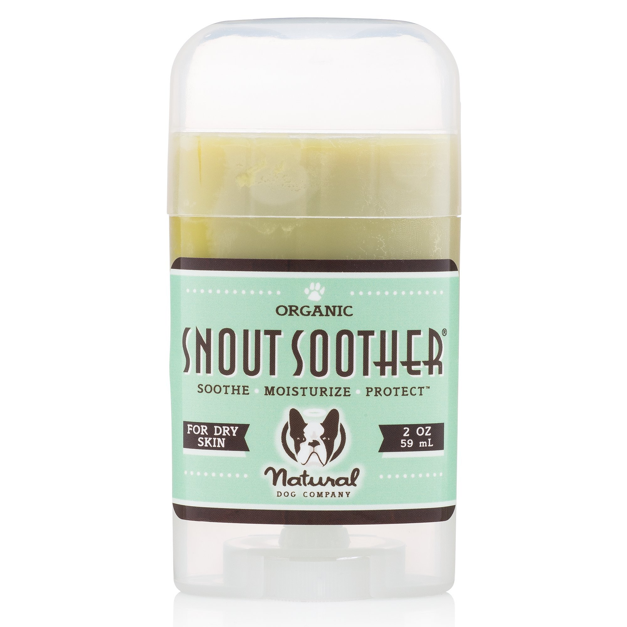 Natural Dog Company - Snout Soother | All-Natural Remedy for Chapped, Crusty, and Dry Dog Noses | Veterinarian Recommended - 2 Oz Stick by Natural Dog Company
