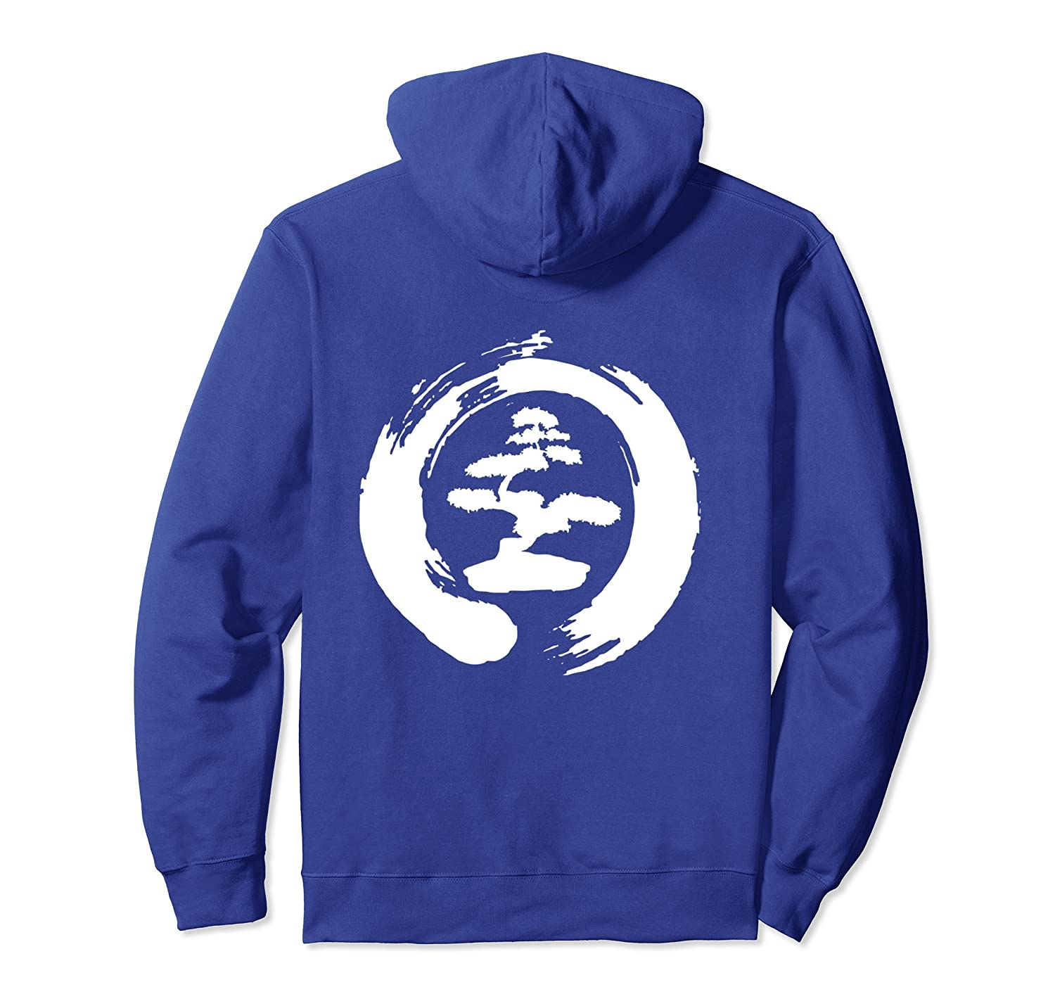 Cool Bonsai Tree Pullover Hoodie Gift for Yoga Lovers-ah my shirt one gift