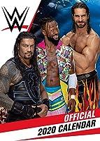 World Wrestling Men 2020 Calendar - Official A3