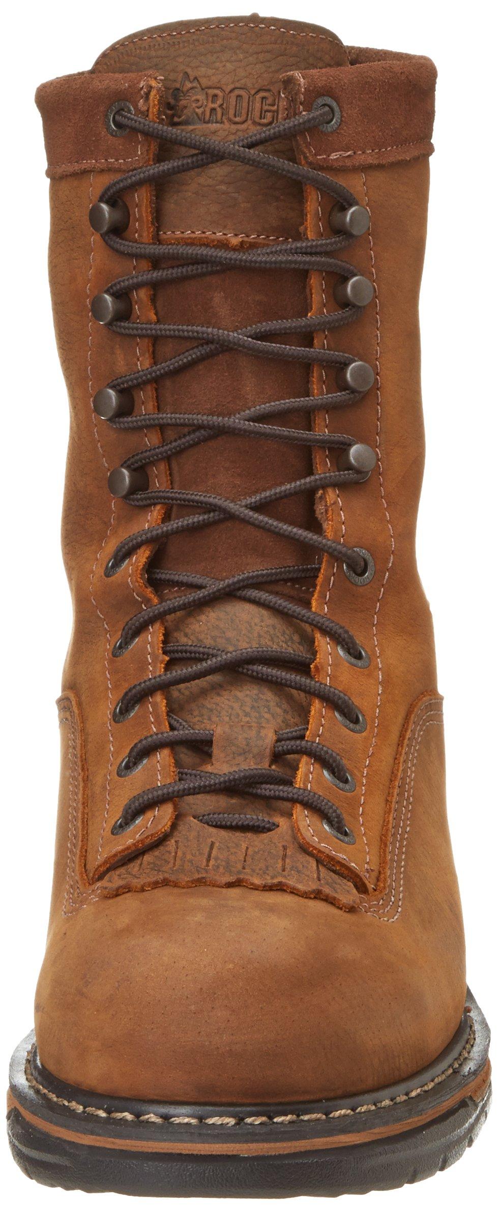Rocky Men's Iron Clad Eight Inch LTT Steel Toe Work Boot,Brown,13 M US by Rocky (Image #4)