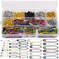 BOSSTER Imperdibles de Seguridad 500 Piezas Multicolor