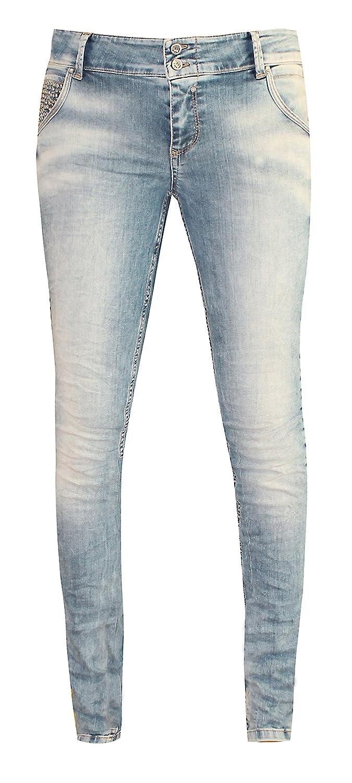 Coccara Jeans Damen Curly Button Women/'s Denim CD216711