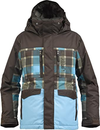 jetzt kaufen kosten charm speziell für Schuh Burton Jungen Snowboardjacke Distortion