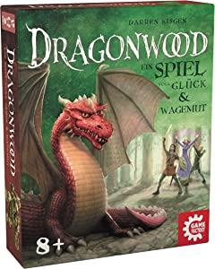 Game Factory 646213 Dragonwood A Game of Good Luck and Dare - Card Game for Friends and Family - for Children 8 Years and Up