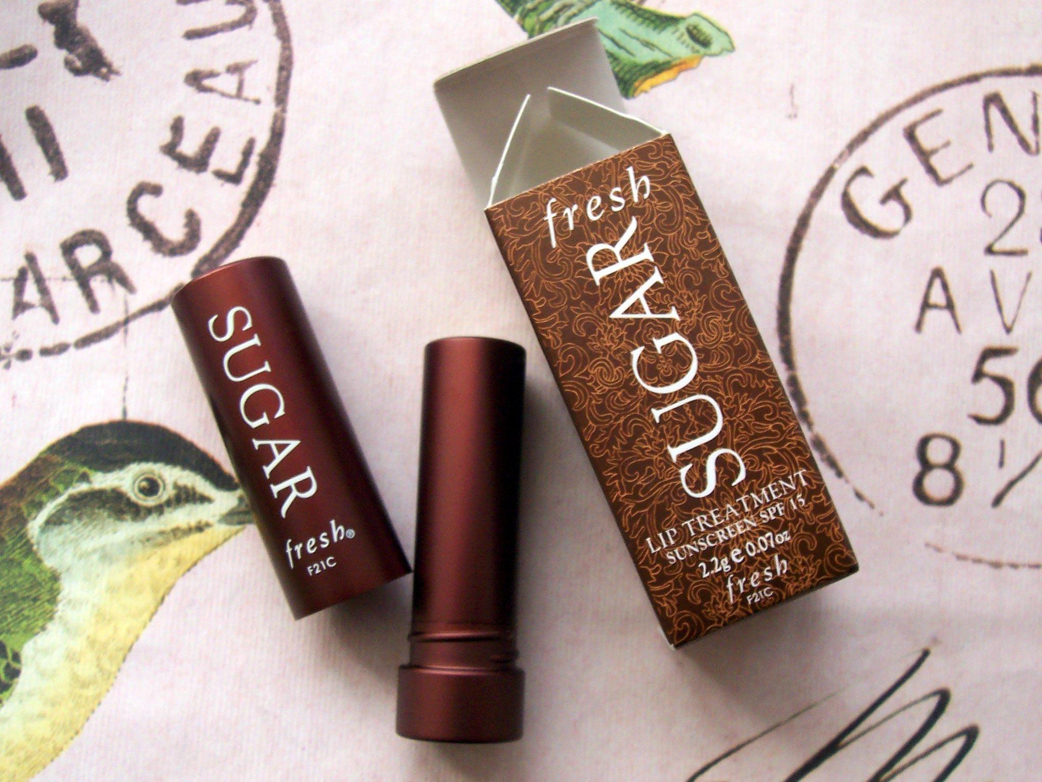Fresh Sugar Lip Treatment Sunscreen spf 15 - Mini Travel size 2.2g/.07oz. in box