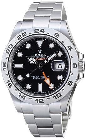 uk availability bdc16 67d24 [ロレックス]ROLEX エクスプローラー2 GMT ブラック メンズ Ref.216570 メンズ 【並行輸入品】