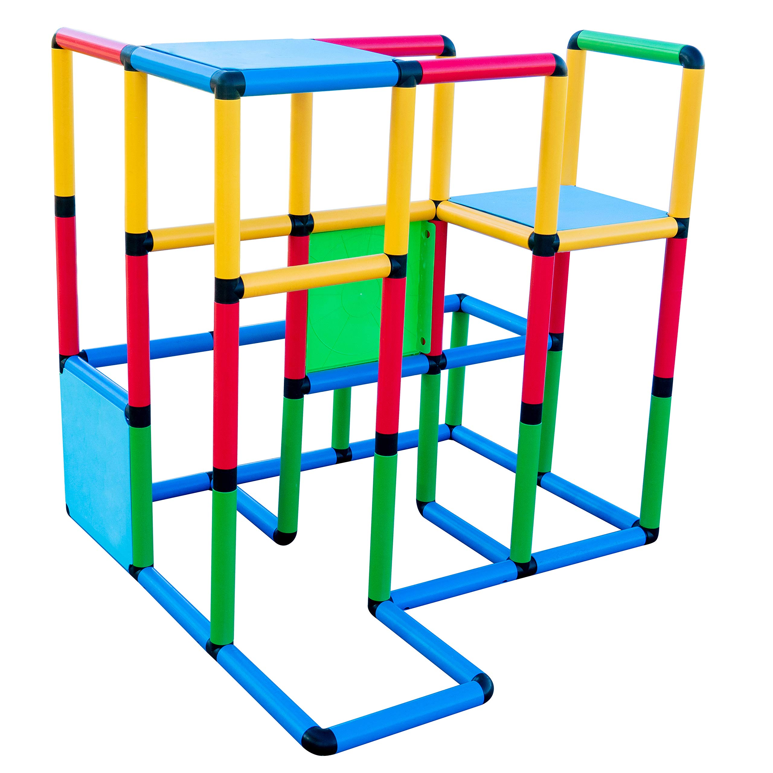 Funphix Deluxe 296 Piece Construction Toy Set - Building Play-Structures for Indoors & Outdoors - Fun & Educational Learning Toys for Ages 2 to 12 by Funphix (Image #4)