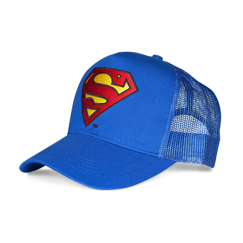 Superman - Gorra para Hombre Color Azul Talla Einheitsgrösse ...