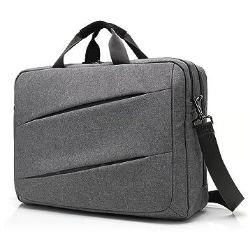 Coolbell 17,3 pulgadas portátil bolsa de mensajero maletín multifuncional bolso con varios compartimentos Incluye