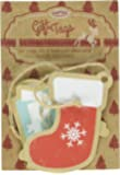 Ginger Ray Christmas Present Tags / Labels - Vintage Noel