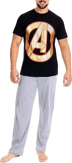 Marvel Pijama para Hombre Avengers