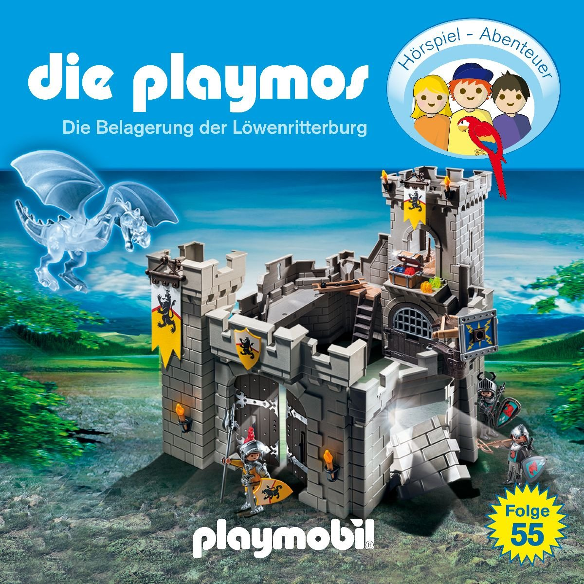 Die Playmos (55) Die Belagerung der Löwenritterburg - floff publishing 2017