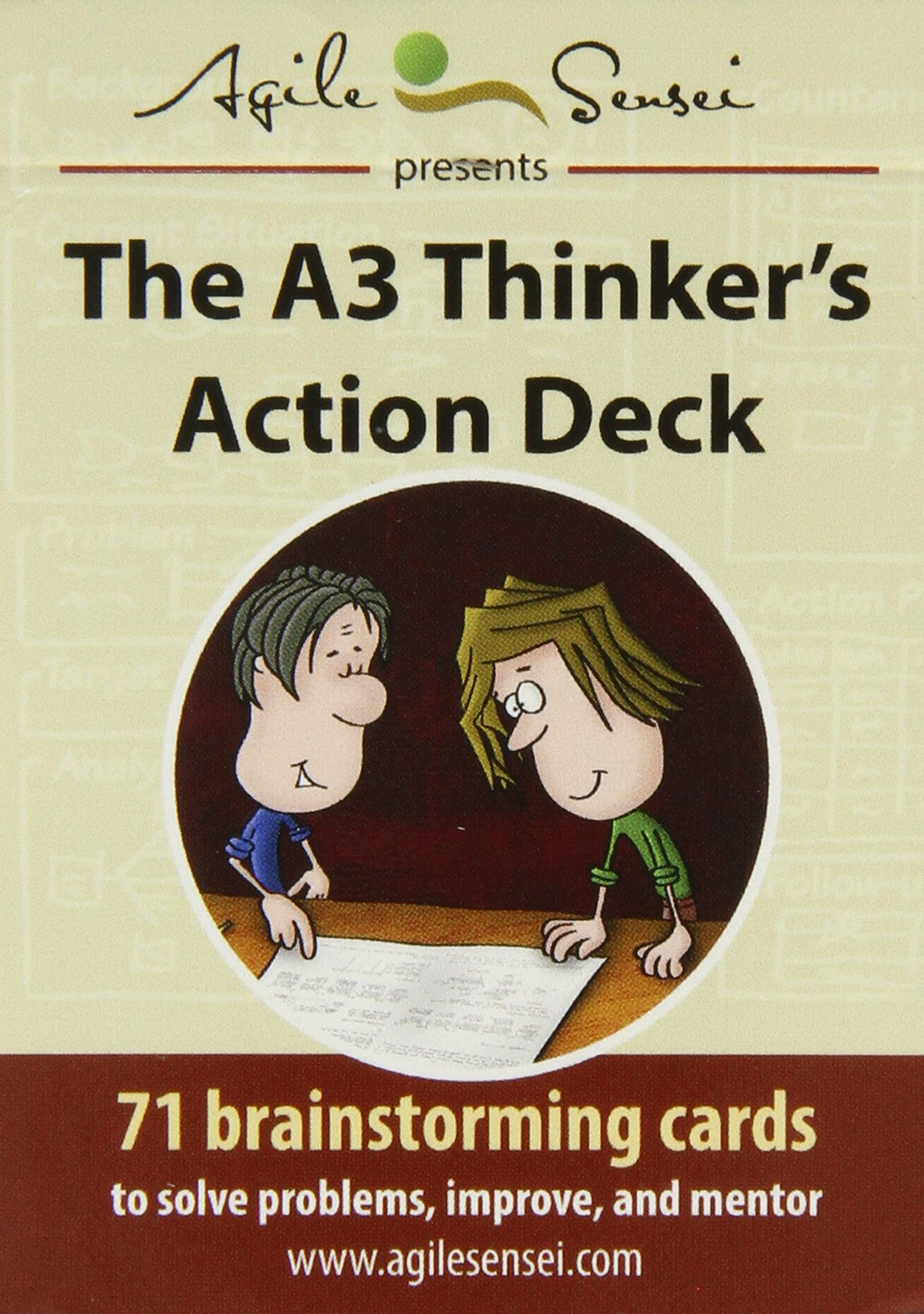 Download The A3 Thinker's Action Deck: 71 Brainstorming Cards to Solve Problems, Improve, and Mentor pdf epub