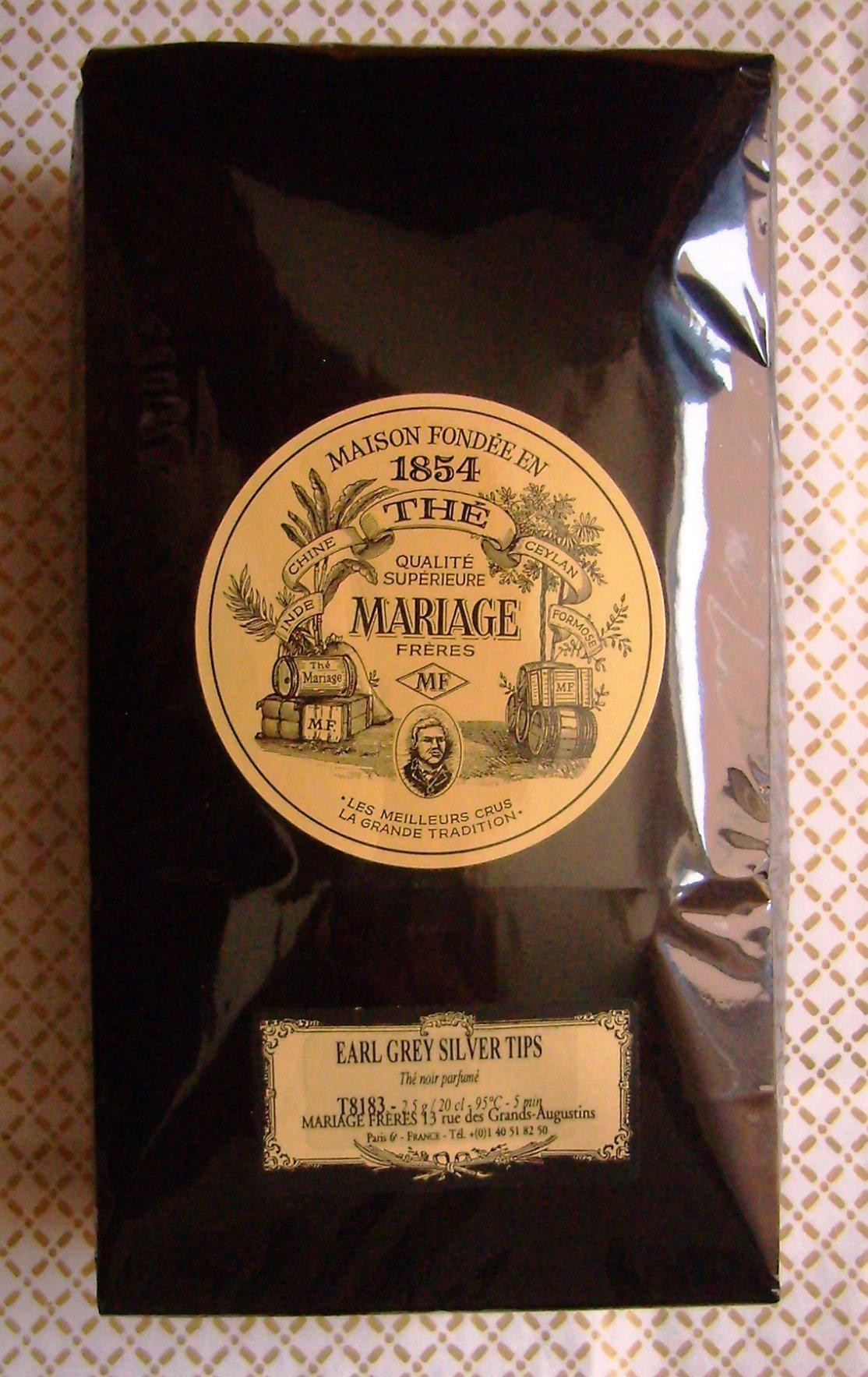 Mariage Freres - EARL GREY SILVER TIPS (T8183) - 17.63oz / 500gr Loose Leaf BULK BAG