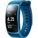 """Samsung Gear Fit II - Smartwatch DE 1.5"""" con frecuencia cardíaca y notificaciones, S, Color Azul [Versión importada: Podría presentar Problemas de compatibilidad]"""