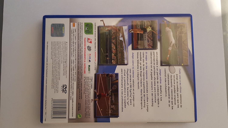 2K Top Spin, PS2 PlayStation 2 Inglés, Español vídeo - Juego (PS2, PlayStation 2, Deportes, Modo multijugador, E (para todos)): Amazon.es: Videojuegos