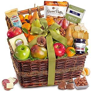 Gourmet Abundance Fruit Basket Gift