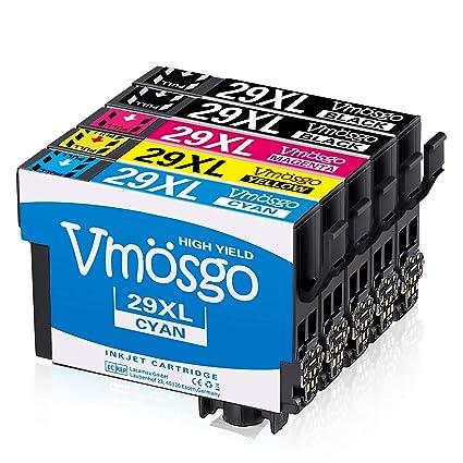 Vmosgo 29XL Reemplazo para Epson 29 Cartuchos de Tinta para Epson ...