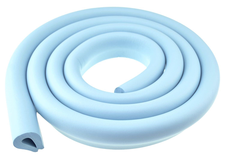 FiveSeasonStuff All Season Foam Cushion Table Edge Corner Guards // Edge Protectors // Edge Cushion // Edge Guards // Baby Proofing Child Proofing // Choose from Below Kits LM91-A Jumbo L-Profile Edge Protector Beige 1pc 2Metre T:5-14mm