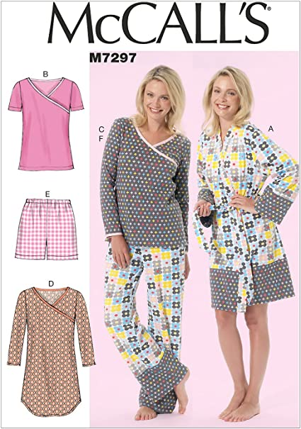 Dresses 18W-20W-22W-24W Trousers RR McCalls Sewing Pattern 7697 Tops Shorts