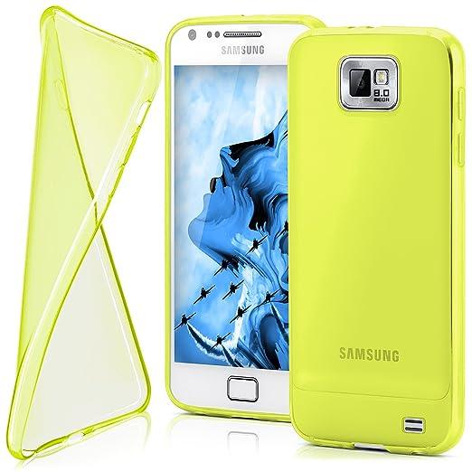 43 opinioni per Cover di protezione Samsung Galaxy S2 / S2 Plus Custodia Case silicone sottile