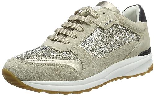 Geox D AIRELL C, Zapatillas para Mujer, Beige (lt Taupec6738), 39 EU: Amazon.es: Zapatos y complementos