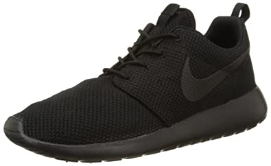 brand new 98ca9 54b2d Nike Roshe One Black/Black Men's Athletic Shoes Size 14