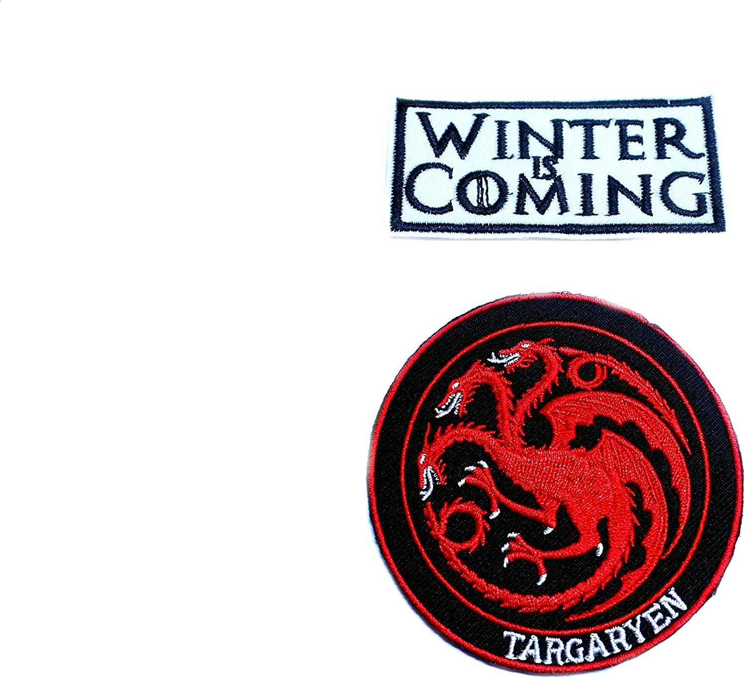 Game Of Throne Winter is coming Embroidered Iron On Sew On PatchBadge