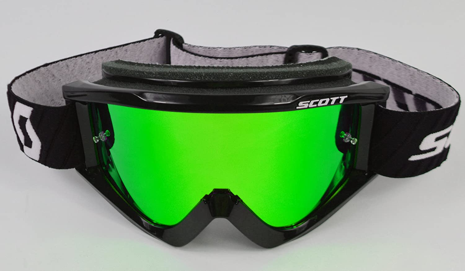 Goggle-Shop Spiegelglas f/ür Scott 80s 89 Recoil Motocross MX Brille