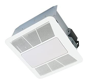 Attirant KAZE APPLIANCE SE90TL2 Ultra Quiet 90 CFM 0.3 Sones Bathroom Exhaust Fan  With LED
