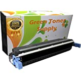 Green Toner Supply Remanufactured Toner Cartridge Replacement for HP Q6470A (Black)