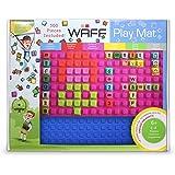 """Play Mat - NEW  (300 Cubes + Bag + Book) Blue (12""""x14""""x2.5"""")"""
