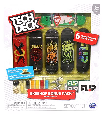 Buy Tech Deck - Sk8Shop Bonus Pack Series 3 Flip Skateboards Online at Low  Prices in India - Amazon.in 201e9d7b772