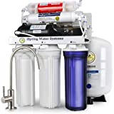 iSpring RCC7P-AK Boosted Performance Under Sink 6-Stage Reverse Osmosis Drinking Filtration System and Ultimate Water…