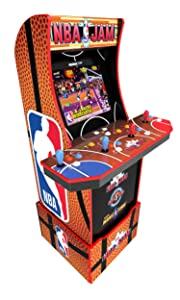 Arcade1Up Arcade1Up NBA JAM Home Arcade Machine, 3 Games in 1, 4 Foot Cabinet with 1 Foot Riser - Electronic Games;