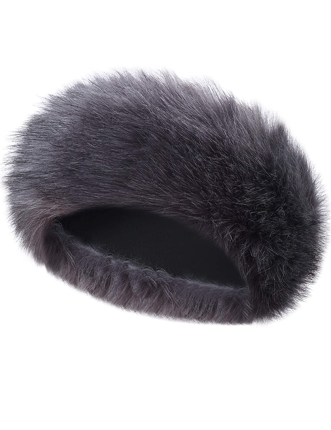 Caracilia Faux Fur Headband Women s Winter Earwarmer Earmuff Hat Ski at  Amazon Women s Clothing store  3eba49f57057
