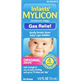 Mylicon Infant Drops Anti-Gas Relief Original formula, 1/2 FL OZ (15 ml)