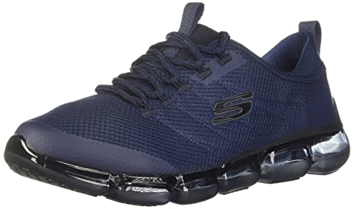 fluido Artes literarias Arriesgado  Buy Skechers Men's Skech-Air 92 - Corview Sneaker, Navy/Black, 14 at  Amazon.in