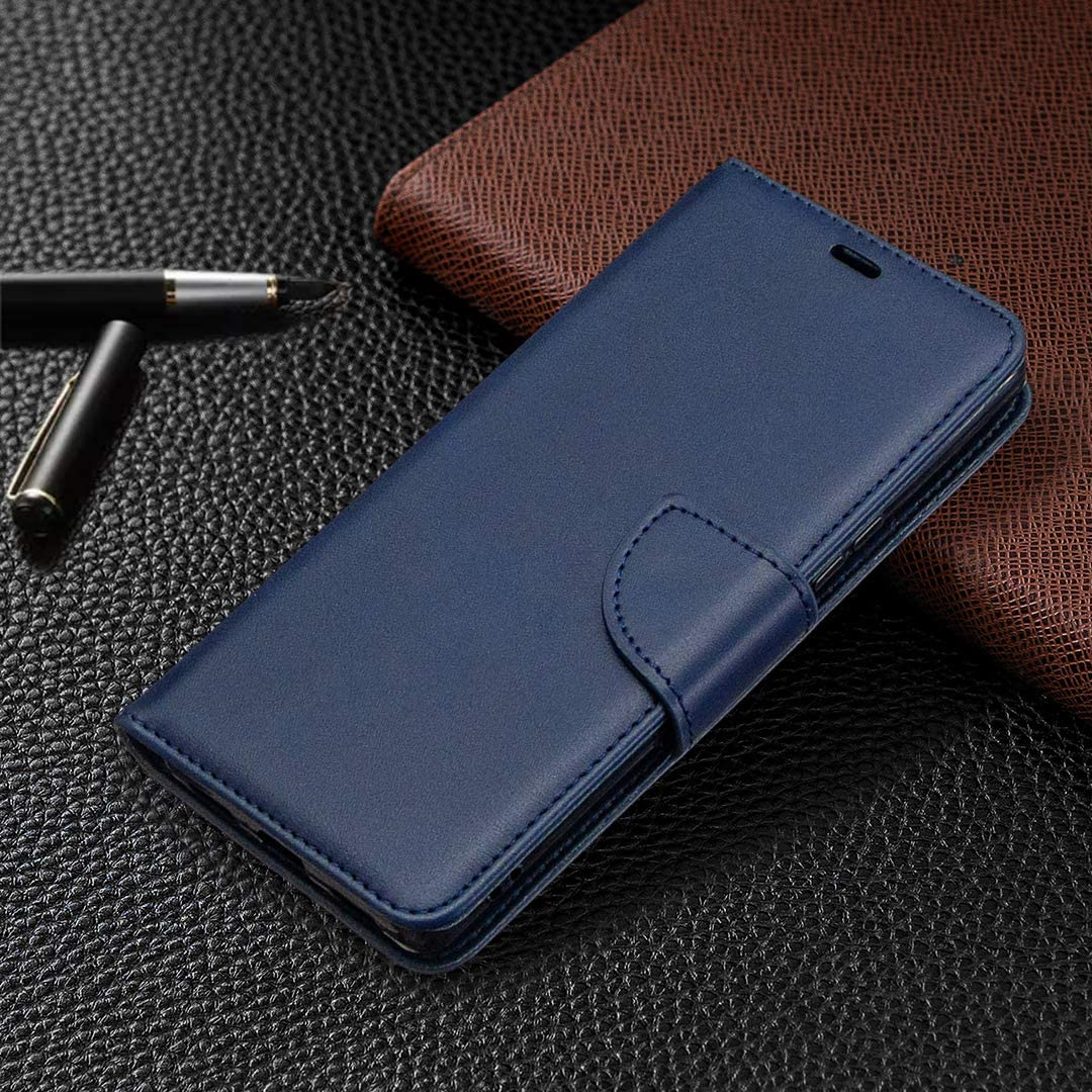 TOBFE150996 Blau Tosim Sony Xperia L4 H/ülle Klappbar Leder Brieftasche Handyh/ülle Klapph/ülle mit Kartenhalter Stossfest Lederh/ülle f/ür Sony Xperia L4