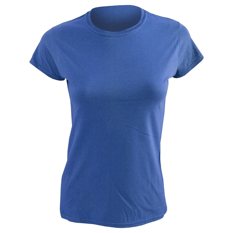 (ギルダン) Gildan レディース ソフトスタイル 半袖Tシャツ 半袖トップス 女性用 B00I646KO2 XL|サファイアブルー サファイアブルー XL