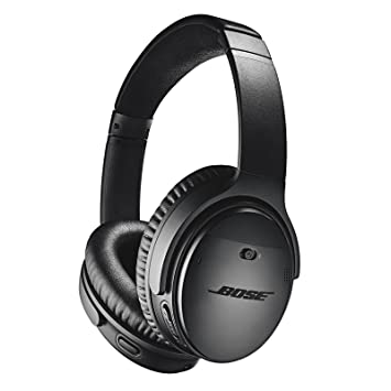 bose noise cancelling. bose quietcomfort 35 (series ii) wireless headphones, noise cancelling - black c