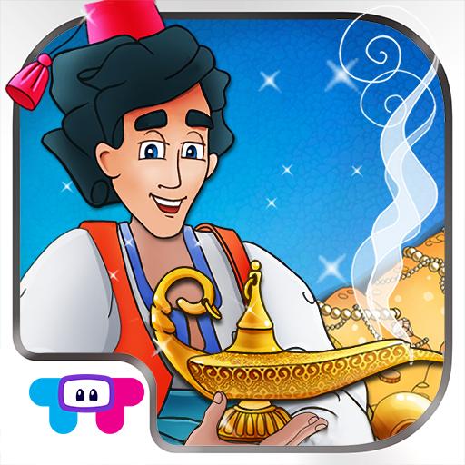 Aladdin & the Magic Lamp - An Interactive Children's Storybook HD - Fairy Wishes Dora