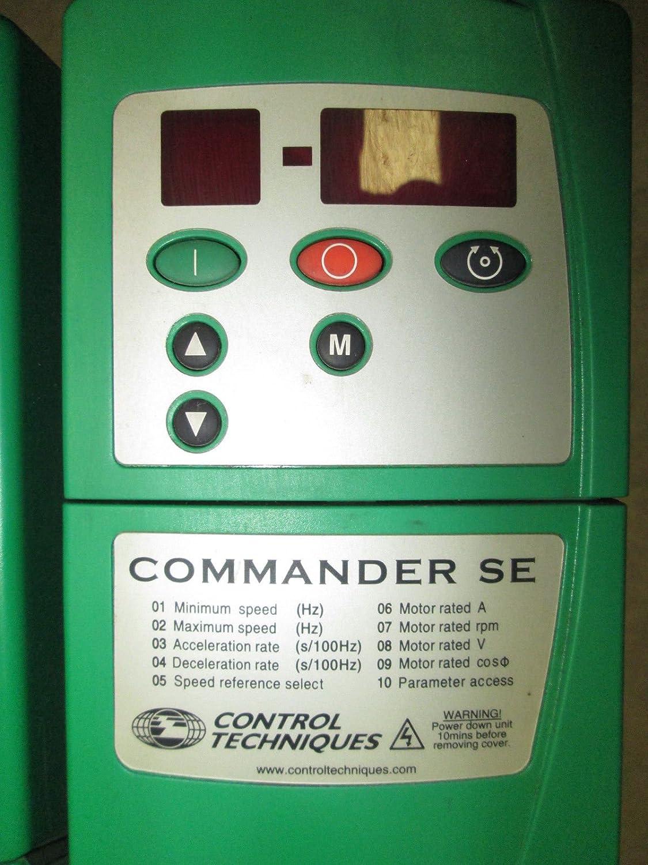 Emerson SE53403000 40 HP Commander SE VS AC Drive Control Techniques 30 kW  40T: Amazon.com: Industrial & Scientific