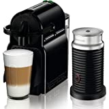 Nespresso Inissia by De'Longhi Espresso Machine with Aeroccino3 Frother EN80BAE , Black