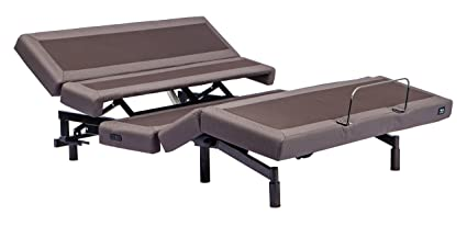 Split Queen Adjustable Bed >> Amazon Com Adjustable Bed Frame With Lumbar Support And