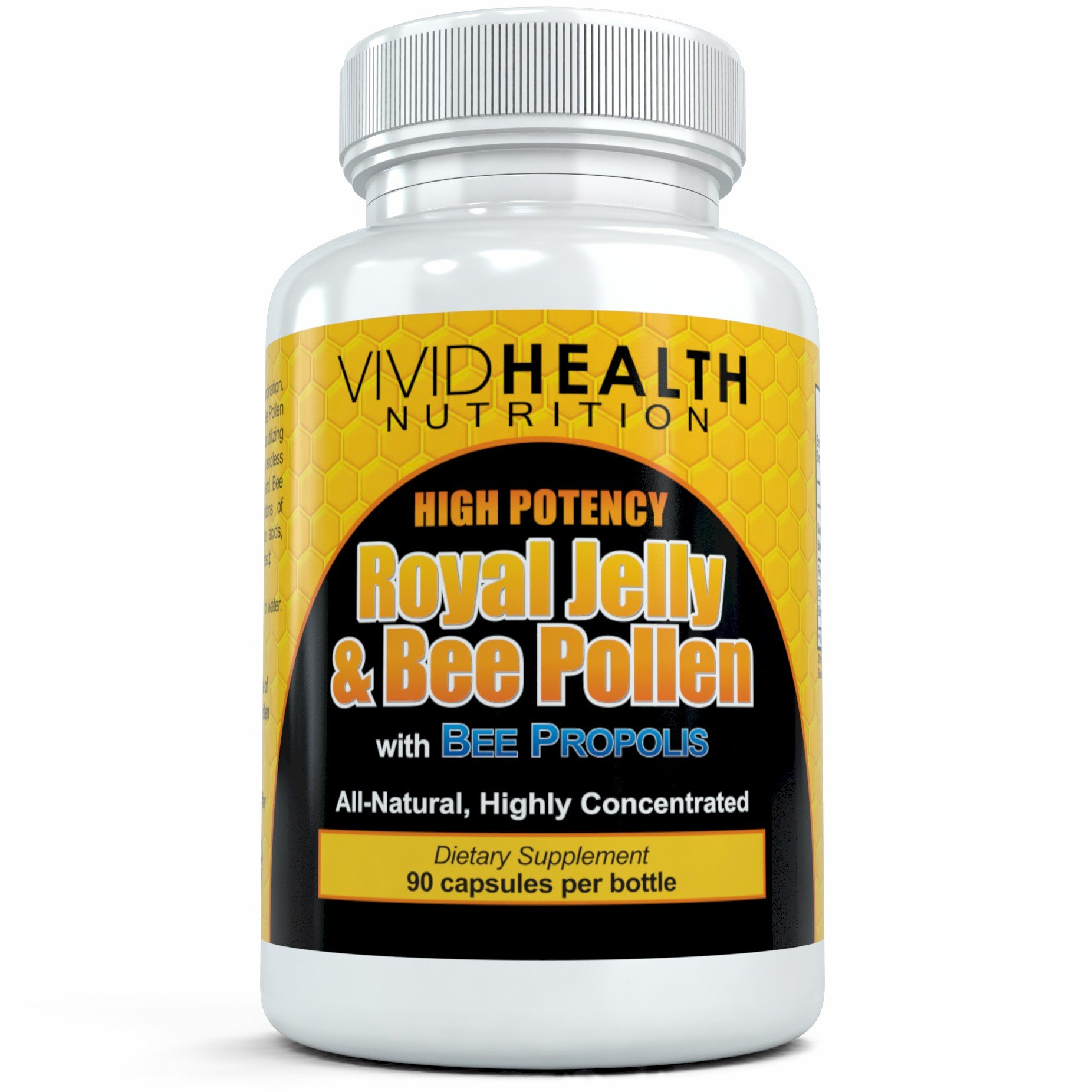 Amazon.com: Best Naturals Bee Pollen Complex 1000 mg 120