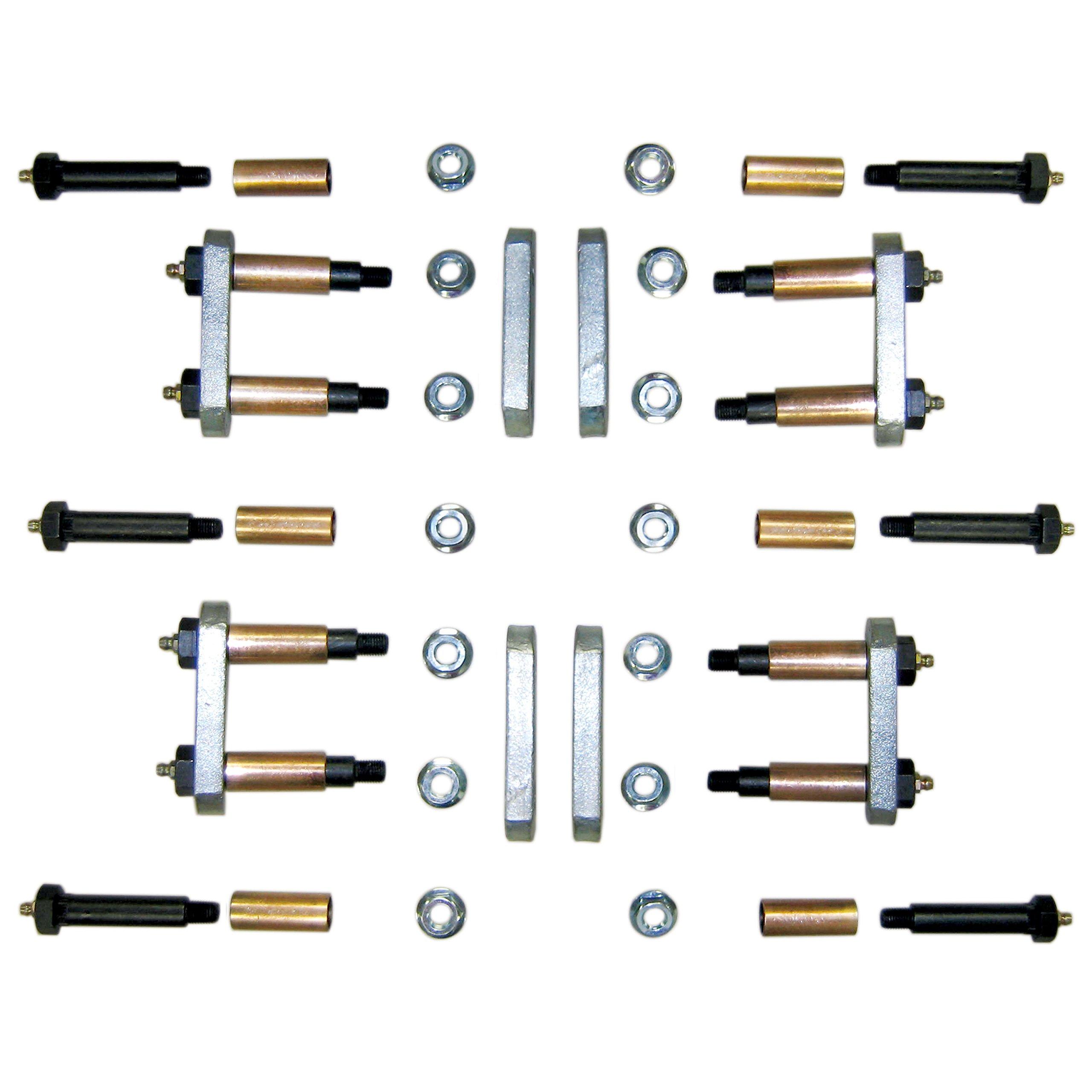 MORryde LRE12-004Heavy Duty Shackle Upgrade Kit - Triple Axle